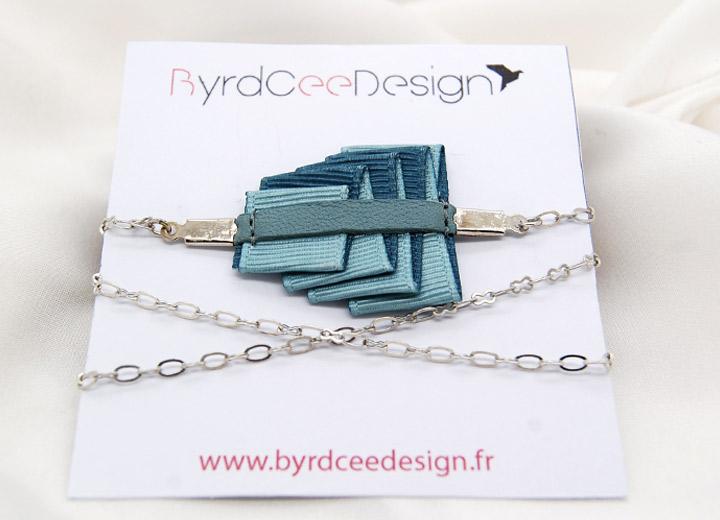 Bijou modulable design bracelet – headband  Lucie