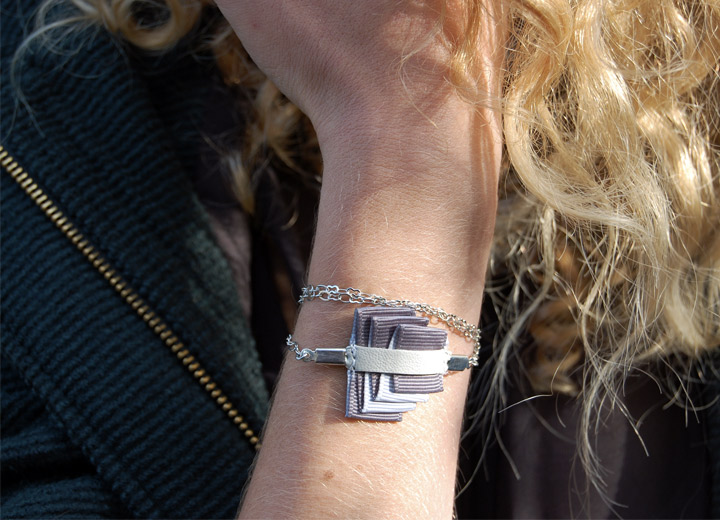 Bijou modulable bracelet – headband Romane