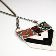 Collier talisman ethnique chic Itzel