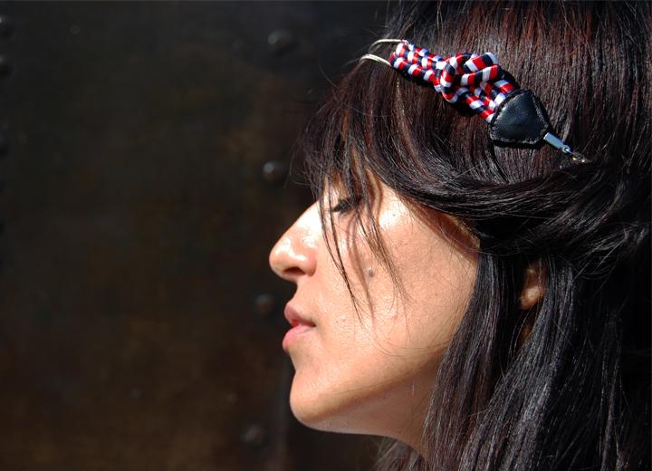 Headband noeud marin Marcel bijou créateur