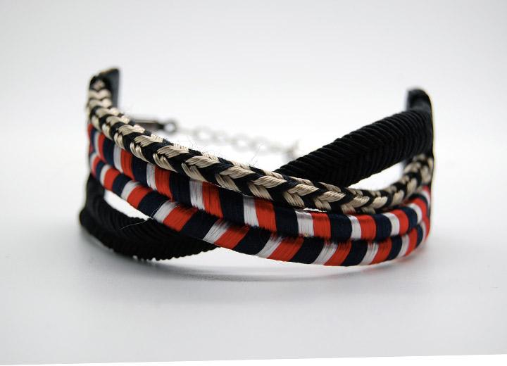 Bracelet manchette navy Vincent bijou créateur