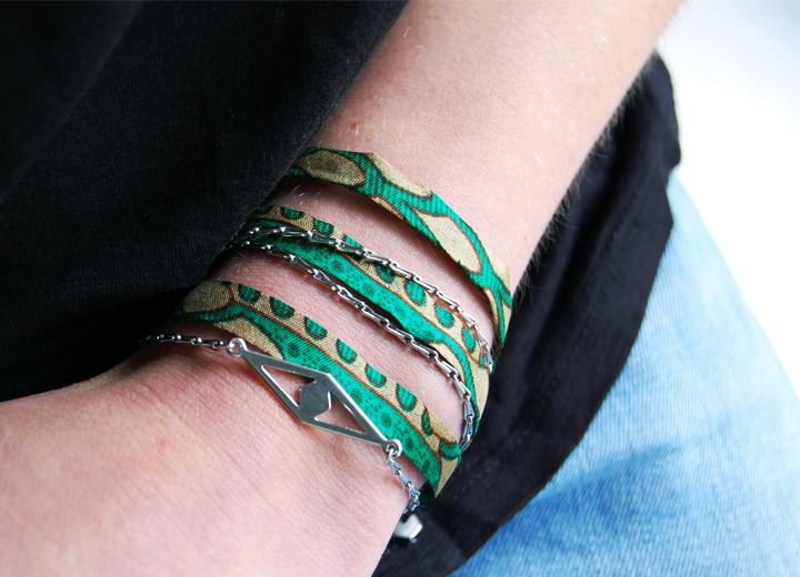Bijou modulable bracelet headband Léonard