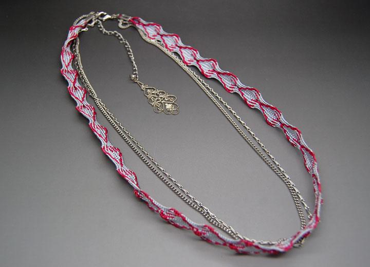 Headband créateur bijou de dos modulable Bérénice